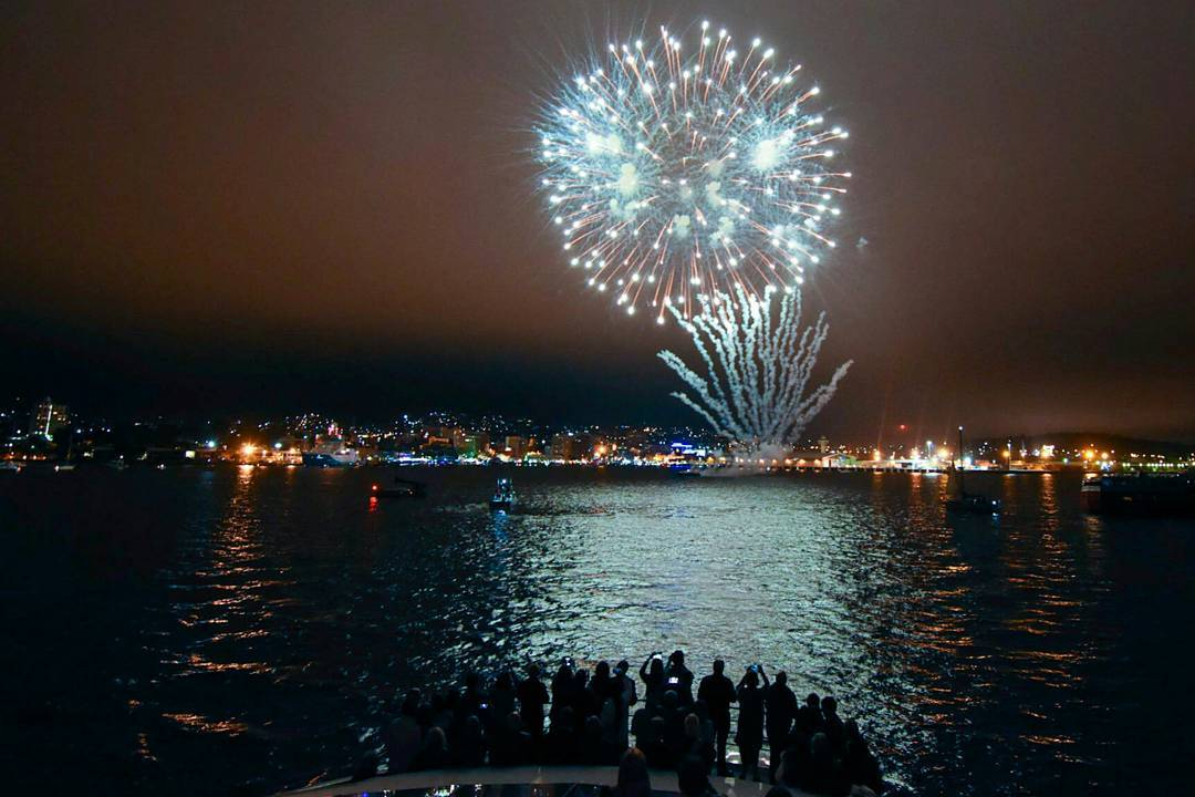 Happy New Year Everybody We All Hope Everyone Had A Fantastic Time Last Night Here Are Some Of Our Guests From Nights Cruise Enjoying The Fireworks